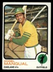 1973 Topps #625  Angel Mangual  Front Thumbnail