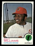 1973 Topps #297  Walt Williams  Front Thumbnail