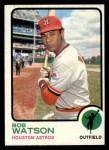 1973 Topps #110  Bob Watson  Front Thumbnail