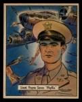 1941 Gum Inc. War Gum #123   Lieutenant Paine Saves Phyllis Front Thumbnail