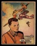 1941 Gum Inc. War Gum #104   Victor Talalikhin Russian Air Hero Front Thumbnail