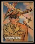 1941 Gum Inc. War Gum #116   Capt. George Ed Kiser Front Thumbnail