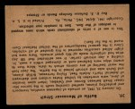1941 Gum Inc. War Gum #39   Battle Of Macassar Strait Back Thumbnail