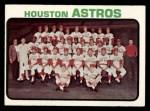 1973 Topps #158   Astros Team Front Thumbnail