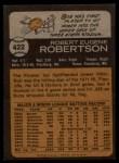 1973 Topps #422  Bob Robertson  Back Thumbnail