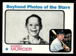 1973 Topps #343   -  Bobby Murcer Boyhood Photo Front Thumbnail
