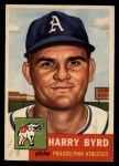 1953 Topps #131  Harry Byrd  Front Thumbnail