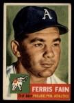 1953 Topps #24  Ferris Fain  Front Thumbnail