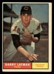 1961 Topps #560  Barry Latman  Front Thumbnail