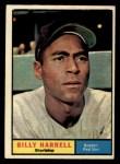 1961 Topps #354  Billy Harrell  Front Thumbnail