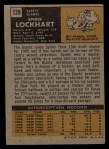 1971 Topps #128  Spider Lockhart  Back Thumbnail
