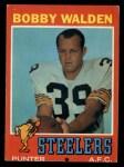 1971 Topps #102  Bobby Walden  Front Thumbnail