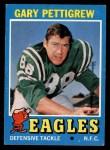 1971 Topps #63  Gary Pettigrew  Front Thumbnail