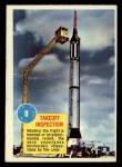 1963 Topps Astronaut Popsicle #8   Takeoff Inspection Front Thumbnail