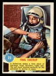 1963 Topps Astronaut Popsicle #25   Final checkup Front Thumbnail