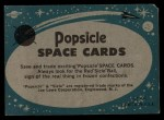 1963 Topps Astronaut Popsicle #24   Grissom in pressure suit Back Thumbnail