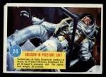 1963 Topps Astronaut Popsicle #24   Grissom in pressure suit Front Thumbnail