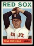 1964 Topps #376  Dave Morehead  Front Thumbnail