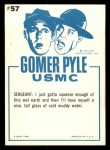 1965 Fleer Gomer Pyle #57   Drip Looking for Drop Back Thumbnail