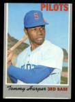 1970 Topps #370  Tommy Harper  Front Thumbnail