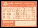 1964 Topps #562  Pedro Ramos  Back Thumbnail