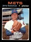 1971 Topps #335  Jerry Koosman  Front Thumbnail