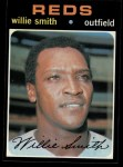 1971 Topps #457  Willie Smith  Front Thumbnail