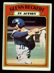 1972 Topps #46   -  Glenn Beckert In Action Front Thumbnail
