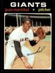 1971 Topps #325  Juan Marichal  Front Thumbnail