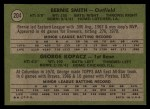 1971 Topps #204   -  George Kopacz / Bernie Smith Brewers Rookies Back Thumbnail