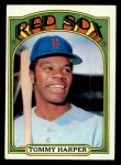 1972 Topps #455  Tommy Harper  Front Thumbnail