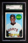 1969 Topps #190  Willie Mays  Front Thumbnail
