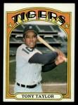 1972 Topps #511  Tony Taylor  Front Thumbnail