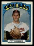 1972 Topps #140  Pat Dobson  Front Thumbnail