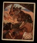 1950 Bowman Wild Man #11   Fire Aids Early Man Front Thumbnail