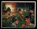 1951 Bowman Red Menace #17   War in Malaya Front Thumbnail