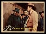1958 Topps Zorro #24   Diego Meets Zorro Front Thumbnail
