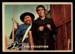 1958 Topps Zorro #28   The Execution Front Thumbnail