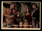 1958 Topps Zorro #20   Diego The Weakling Front Thumbnail