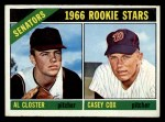 1966 Topps #549   -  Al Closter / Casey Cox Senators Rookies Front Thumbnail