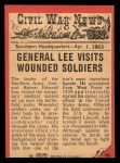 1965 A and BC England Civil War News #39   General Lee Back Thumbnail