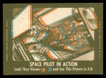 1963 Topps Astronauts 3D #30   -  Gus Grissom Grissom in Space Back Thumbnail