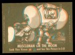 1963 Topps Astronauts 3D #43   -  John Glenn Studying his maps Back Thumbnail