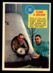 1963 Topps Astronauts 3D #35   -  John Glenn Glenn and Grissom Front Thumbnail