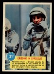 1963 Topps Astronauts 3D #21   -  Gus Grissom Grissom in Spacesuit Front Thumbnail