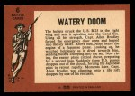 1966 A and BC England Battle #6   Watery Doom Back Thumbnail