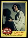 1977 Topps Star Wars #192   Liberated Princess Front Thumbnail