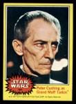1977 Topps Star Wars #181   Peter Cushing as Grand Moff Tarkin Front Thumbnail