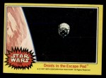 1977 Topps Star Wars #172   Droids in the escape pod Front Thumbnail