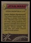 1977 Topps Star Wars #169   Meeting at the Death Star Back Thumbnail